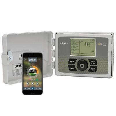 Orbit Smart Sprinkler Controller B-hyve 12 Zone Indoor Outdoor Watering Timer