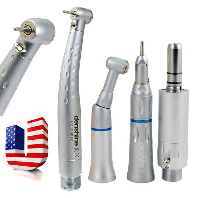 E-generator Led Fiber Optic Dental High Speed Handpiece 2 Hole Low Kit Fit Kavo
