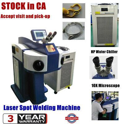 220v Jewelry Laser Spot Welding Machine Watch Laser Welder Gold Silver Titanium