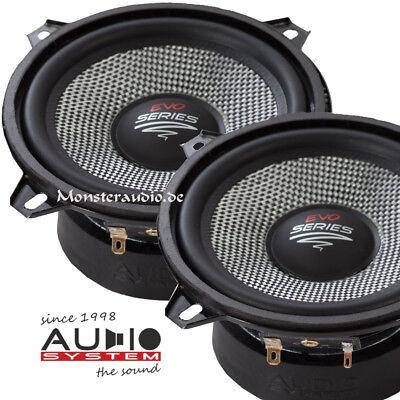 AUDIO SYSTEM AS 130 EVO 13cm Auto Mittelton Lautsprecher Kicker 130mm 250 Watt ()