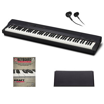 Casio Privia PX-160 Digital Piano - Black BONUS PAK