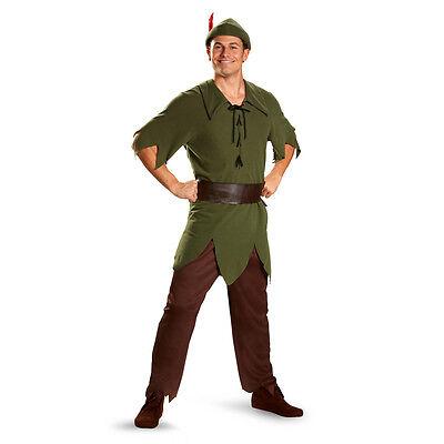 Peter Pan - Adult Classic Costume - Peter Pan Mens Costume