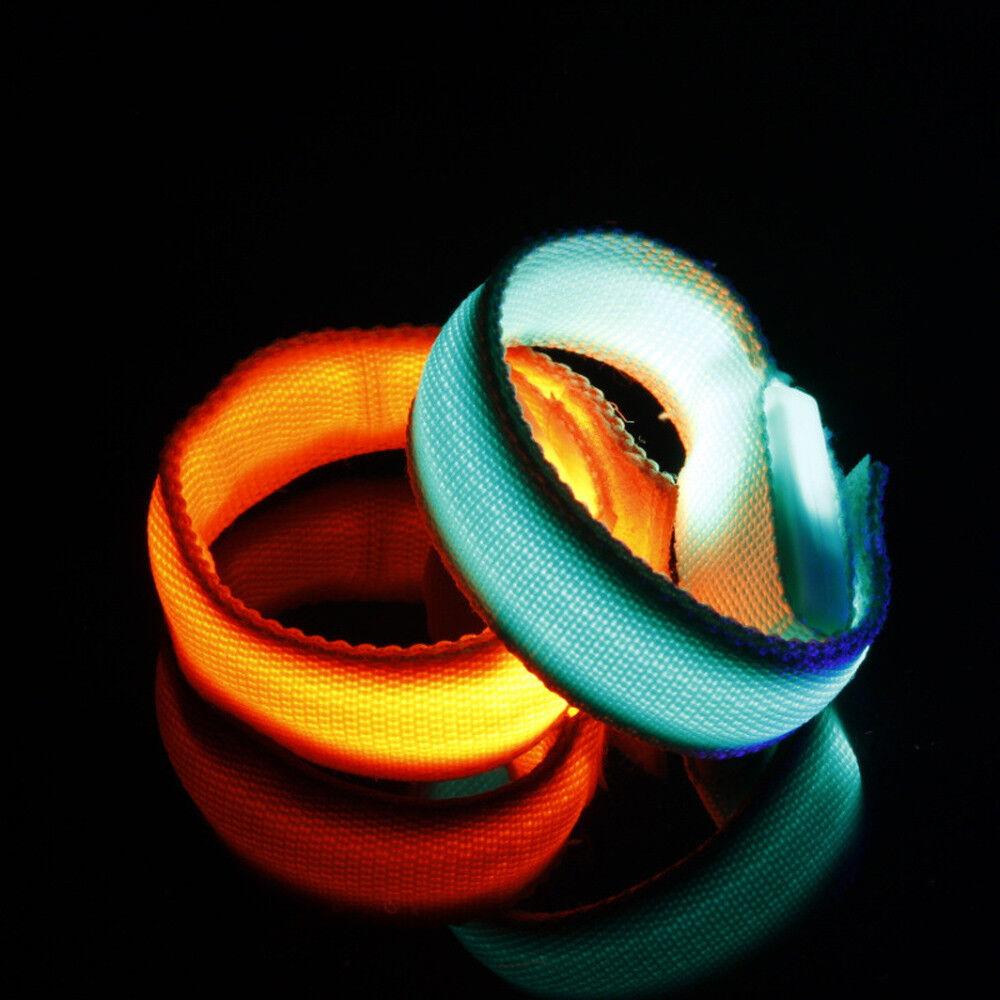 LED Armband Leuchtband Laufen Reflektorband Sicherheitsband Radfahren Outdoor