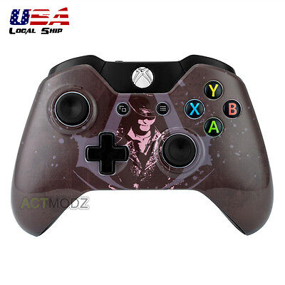 Assassin Front Housing Shell Faceplate Case Cover Part for Xbox One Controller