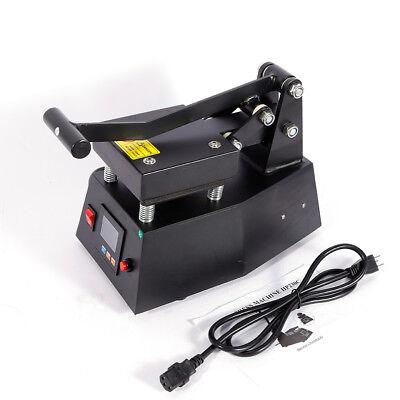 Digital Label Single Heat Press Machine Clothing Logo Printing 0-250 110v 600w