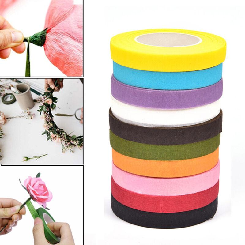 Flower Wrap Floriculture Corsages Buttonhole Florist Floral Stem Tape
