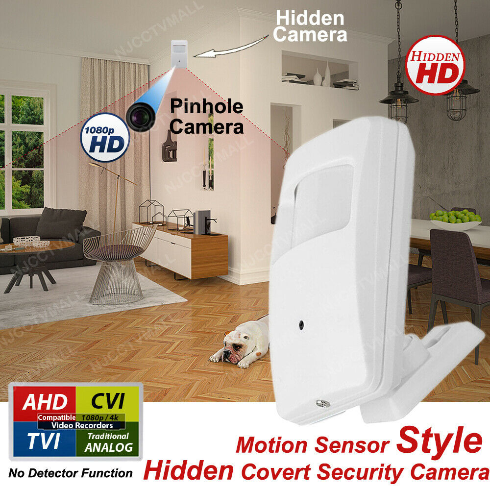 Night Vision Hidden Spy Nanny Security Camera with Motion Se