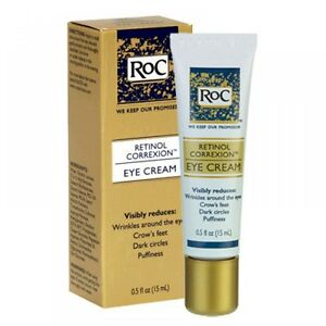Roc Retinol Correxion Anti Aging Eye Cream 05 oz Tube New