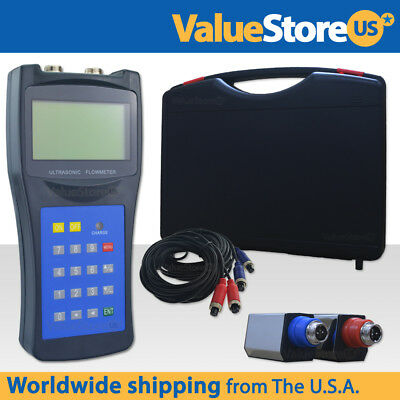Ultrasonic Flow Meter With Transducers USF-100 - Portable Ultrasonic FlowMeter  (Portable Ultrasonic Flow Meter)