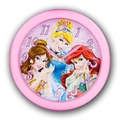 Disney Princess 10 Round Battery-Operated Analog Wall Clock