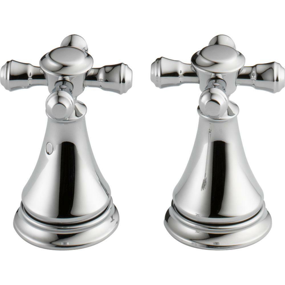 Delta Faucet H295 Cassidy Two Cross Bath Faucet/Bidet Handle