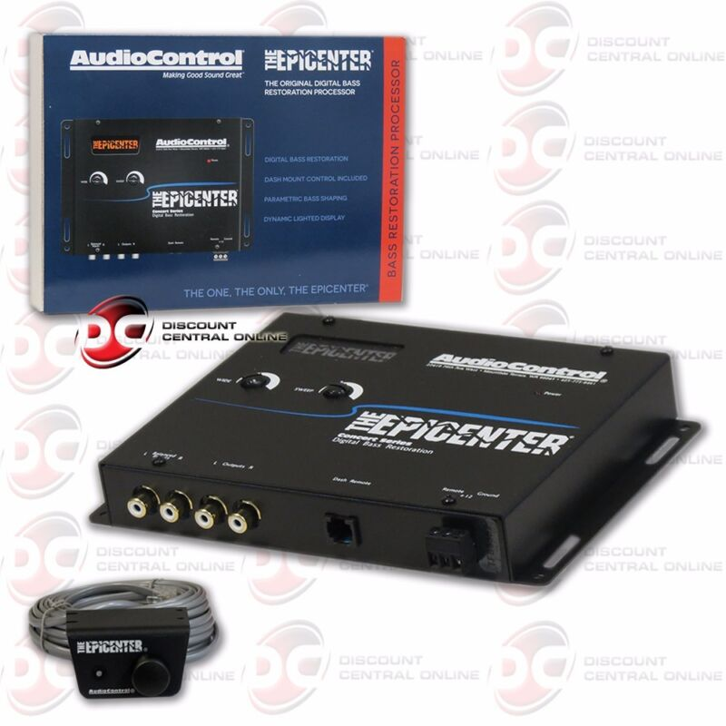Audiocontrol the Epicenter Car Audio Digital Bass Equalizer Black