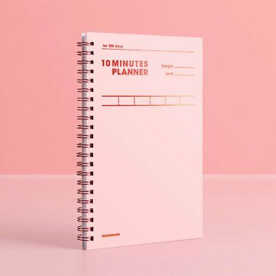 10 Minutes Planner for 100 Days / Study Planner By Motemote