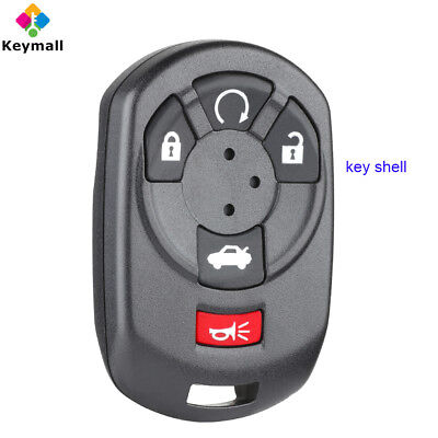 for Cadillac STS 2005 2006 2007 Remote Car Key Shell Case Fob for M3N65981403