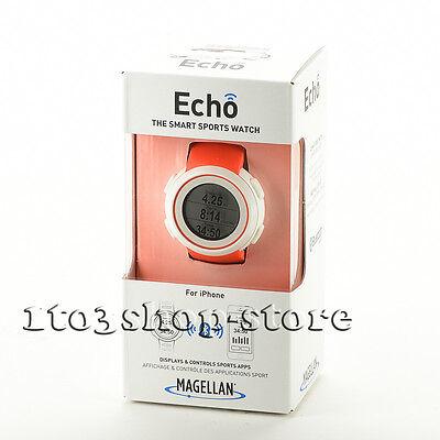 Magellan Echo Smartwatch Watch Sports Activity Fitness Monitor Tracker Orange