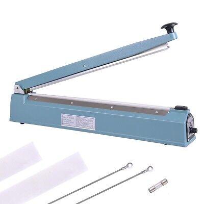 20 Hand Sealer Impulse Heat Manual Seal Machine Plastic Poly Bag Closer Kit