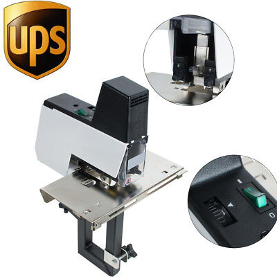 Auto Rapid Stapler Flat Saddle Binder Machine Book Binding Machine 2-50 Sheets
