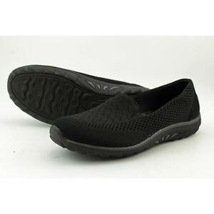 Buy Skechers 49244 Womens Reggae Fest Willows Flat Black Memory Foam ... 5a2a40657