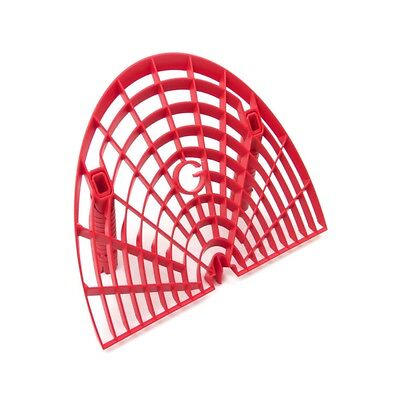 Grit Guard Washboard Bucket Insert - Attaches to Grit Guard Insert - Red - Red Grit Guard