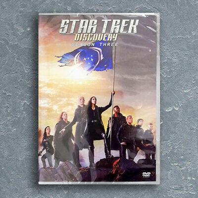 Star Trek Discovery Season 3 (DVD 3-DISC) Brand New Seal Fast Shipping Region 1