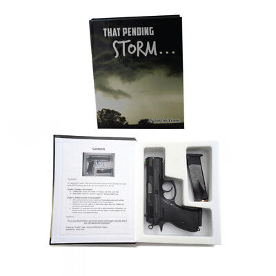 BookKASE Hand Gun Hider Disguised Book Safe Compartment Size SM Pending Storm