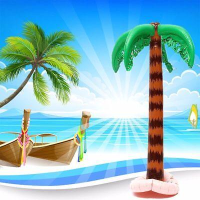 Blow Up Palm Tree (Beach Blow Up Toy Supplies Hawaiian Palm Tree Coconut Trees Pool)