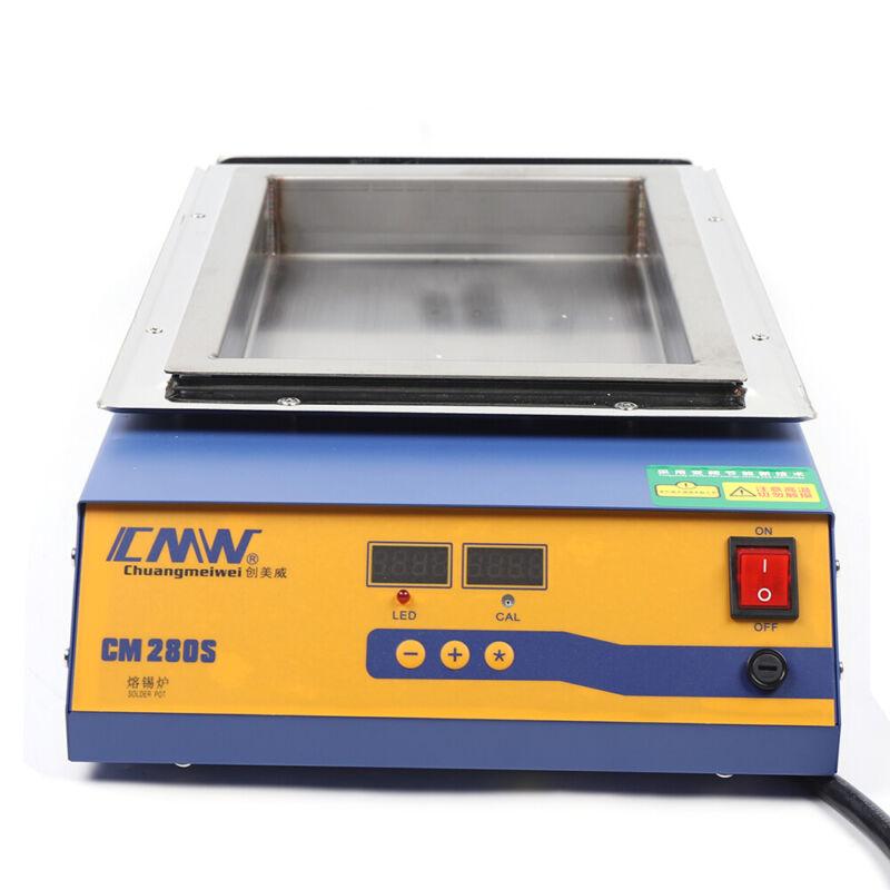 2000W Lead-Free Titanium Alloy digital Solder Pot Soldering Desoldering Bath NEW