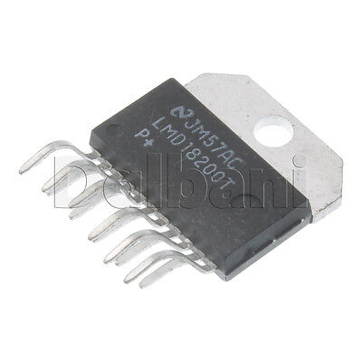 Lmd18200t Original Pulled National Semiconductor 55v 11pin H-bridge Ic
