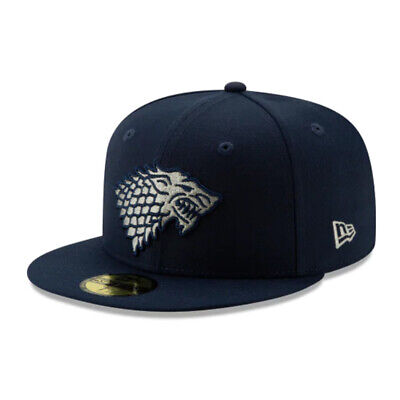 Game of Thrones GofT HBO Authentic New Era House Stark Cap - 59FIFTY Fitted Hat  Authentic Fitted Hat Game