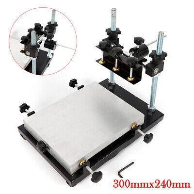 Pcb Stencil Printer Manual Solder Paste Printer Stencil Printer Machine 30x24cm