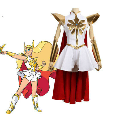 She-ra Princess Of Power Costume (Free Shipping Cosplay Costume She-Ra And The Princess Of Power Dress)