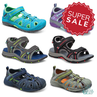 Marrell Sandals Kids Infant Junior Hydro Panther Hiker Sport Leather Boys Girls