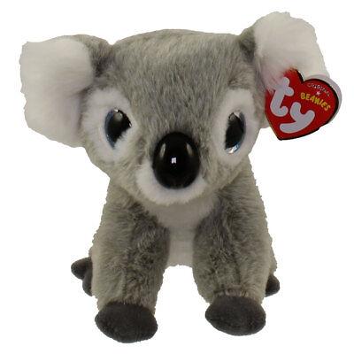"TY Beanie Baby 6"" KOOKOO the Koala Plush Stuffed Animal Toy w/ MWMT's Heart Tags"