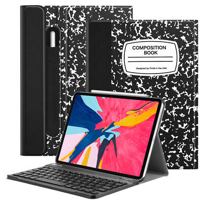 For iPad Pro 11 inch 2018 Case Slim Shell with Detachable Bluetooth (Ipad Case Detachable Bluetooth)