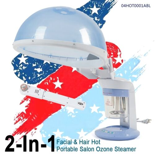 2In1 Professional Hair & Facial Steamer Table Top Skin Care