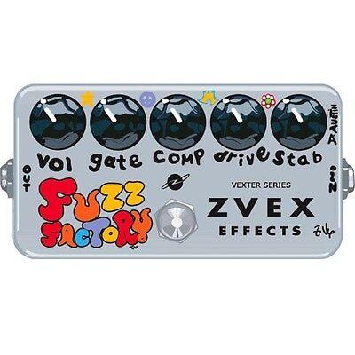 ZVEX Vexter Series Fuzz Factory Boutique Germanium Fuzz Guitar Effects Pedal