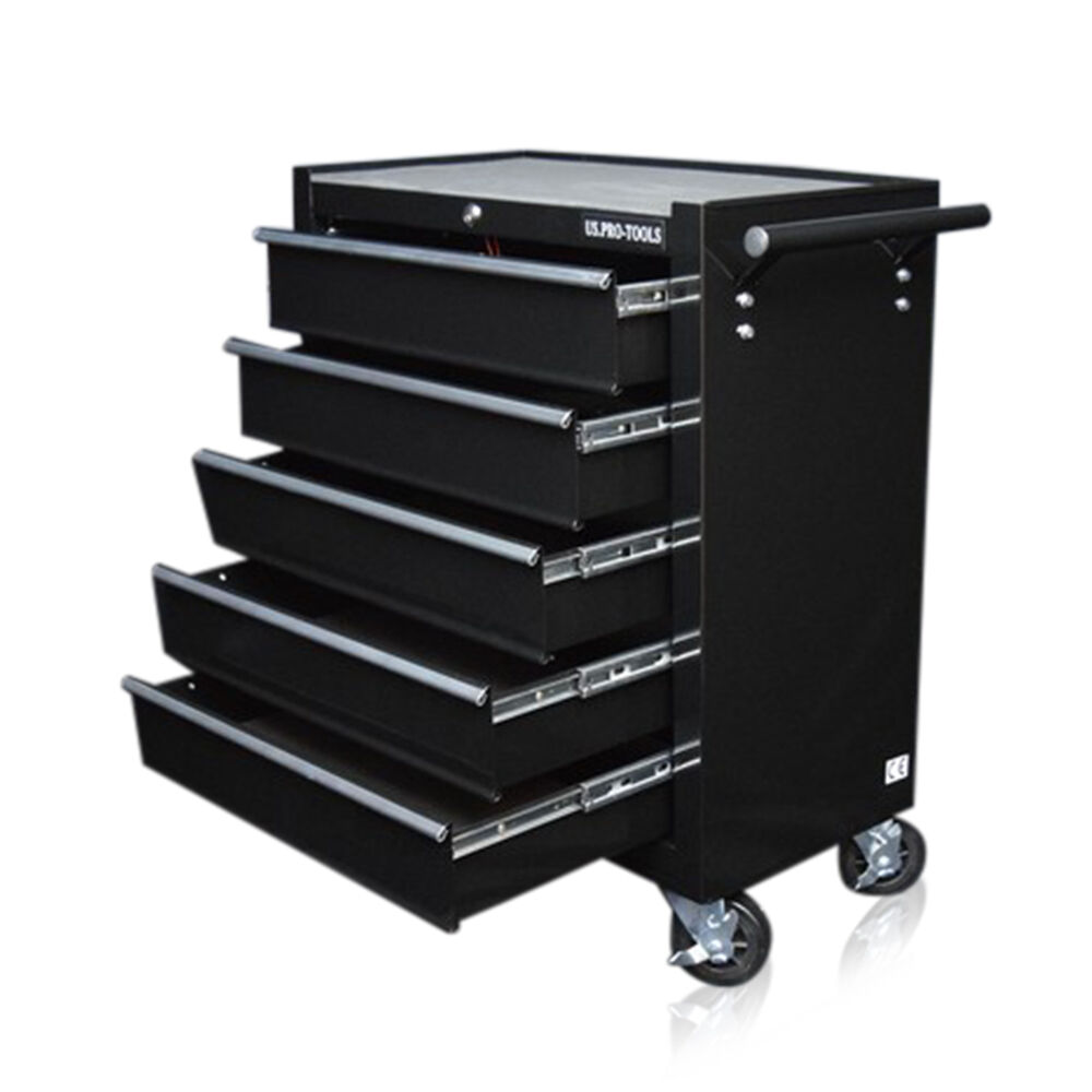 334 us pro black tools affordable steel chest tool box. Black Bedroom Furniture Sets. Home Design Ideas