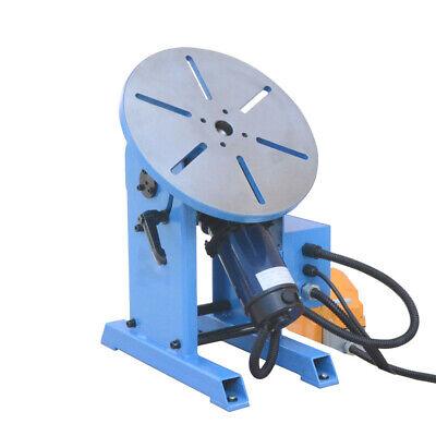 0-135 Rotary Positioner Welder Table Tilt Foot Pedal 265-771 Pounds Load Cap