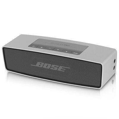 Bose SoundLink Mini Portable Bluetooth Wireless Speaker System - Silver