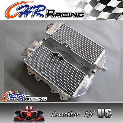 aluminum radiator for Yamaha YZ250 2002-2014 03 04 05 06 07 08 09 10 11 12 13 14