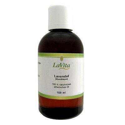 Lavita Lavendelöl (Mont Blanc) - 100 % naturreines ätherisches Öl - 100 ml