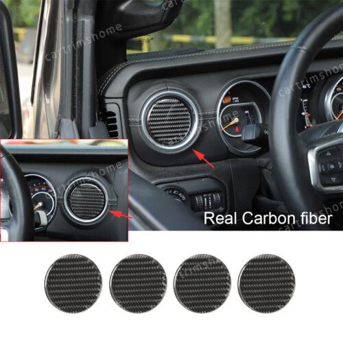 Carbon Fiber Texture JeCar Interior Trim Air Conditioning Switch Panel Cover for 2018 2019 2020 Jeep Wrangler JL JLU /& 2020 Jeep Gladiator JT
