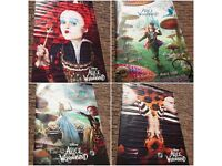Disney - Alice in Wonderland- Cinema promotional posters - LARGE - Great condition