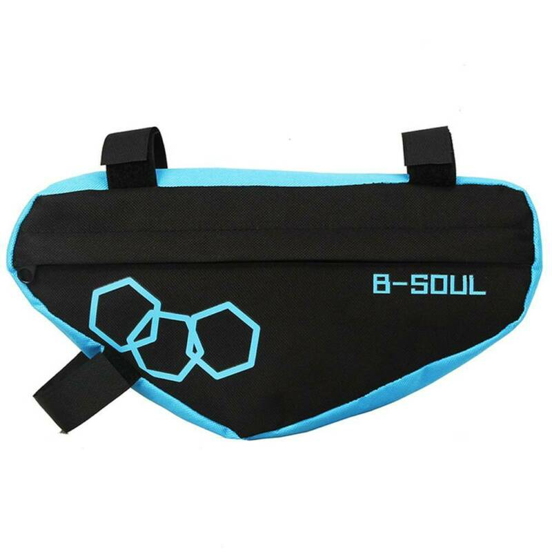 MTB Bike Storage Handlebar Bag Bicycle Cycling Frame Front Tube Outdoor Pouch US Bags & Panniers