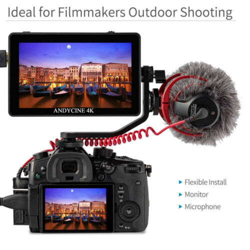 ANDYCINE A6 Plus V2 5.5inch Touch IPS 1920X1080 4K HDMI Camera  3D Lut Monitor
