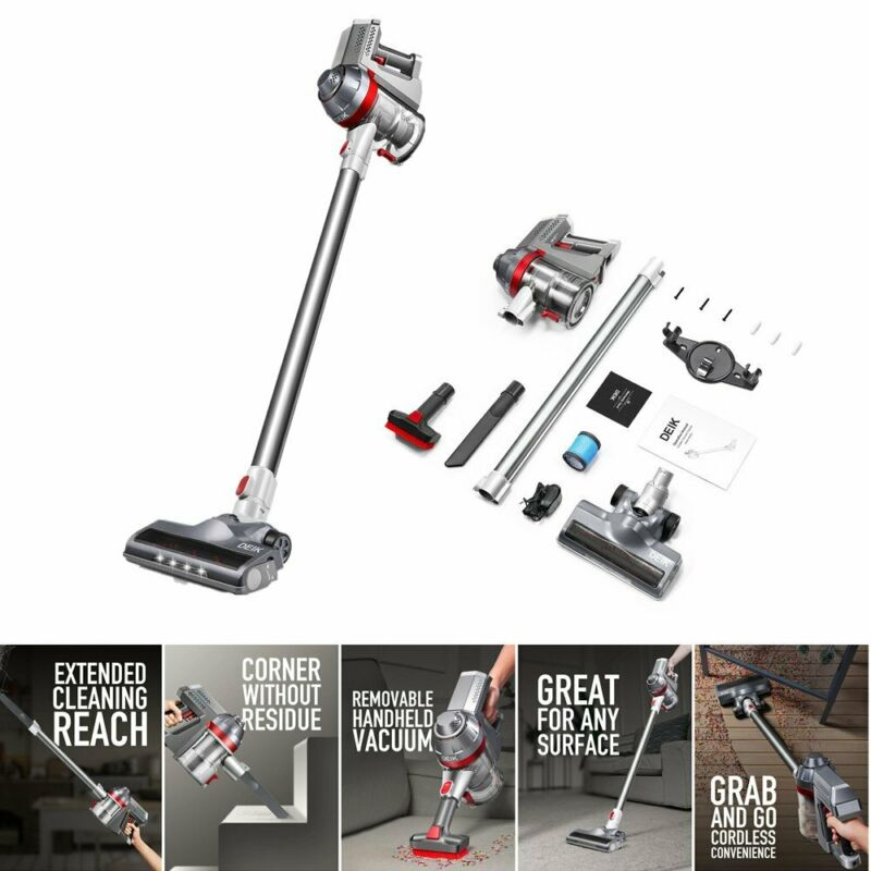 Cordless Handheld Stick Powerful Vacuum Cleaner Car Carpet Floor Sweeper 2 In 1