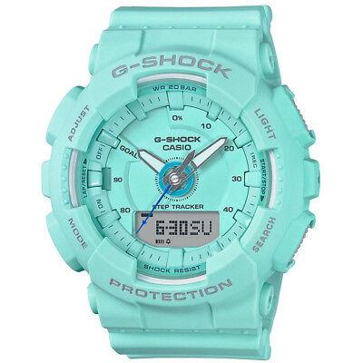 Casio G-Shock S Series 46mm Resin Women's Sports Watch (Blue Mint)