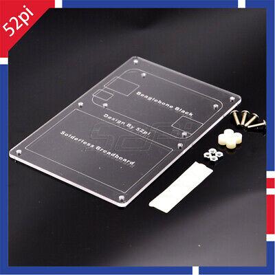 Beaglebone Black Solderless Breadboard Mounting Plate Prototyping Acrylic Board