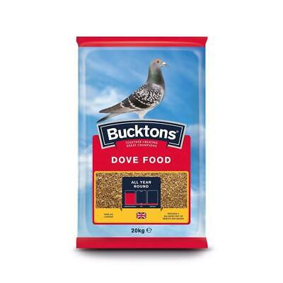 Buckton Dove Winter Economy Pigeon Resting Wheat Grains Feed Bag Mix 20 Kg