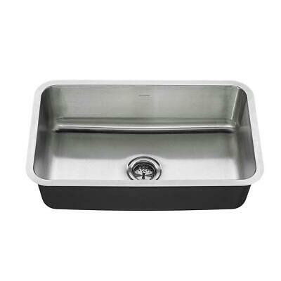 American Standard Undermount Stainless Steel 30 in. Single Bowl Kitchen Sink Kit American Standard Undermount Sink